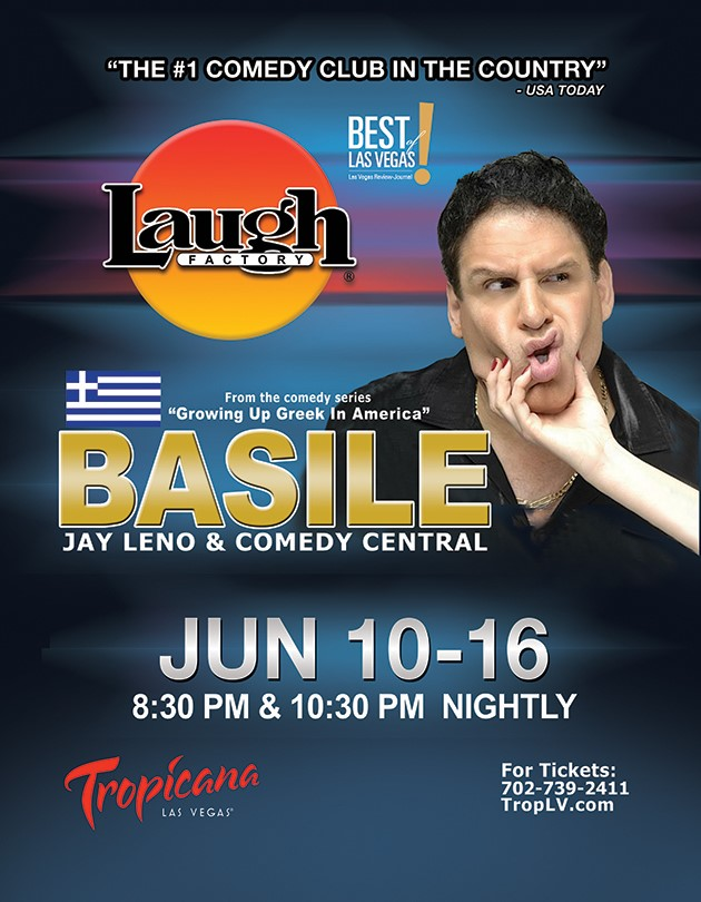 Home - Basile The Comedian